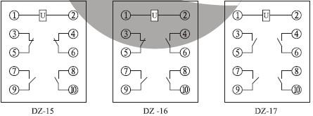 DZ-17接线图