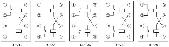 DL-23C内部接线图