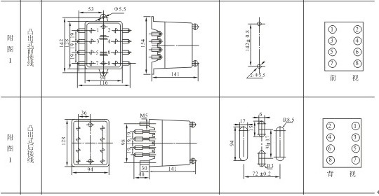 JDL-22外形及开孔尺寸1