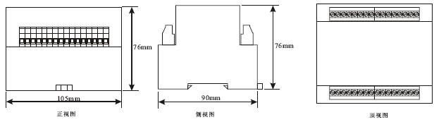 JL-21外形及开孔尺寸4