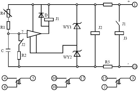 BS-12背后段子接线图