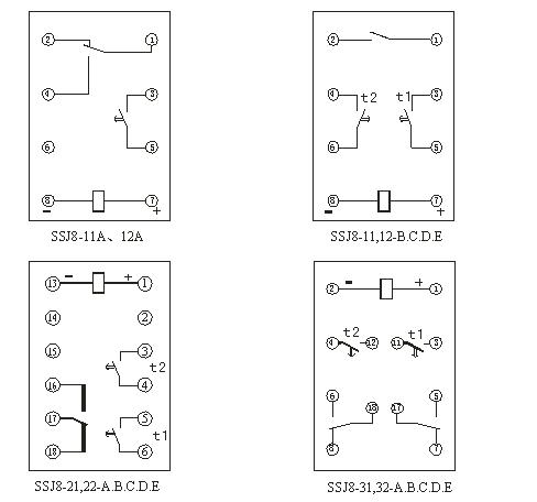 SSJ8-22B接线图