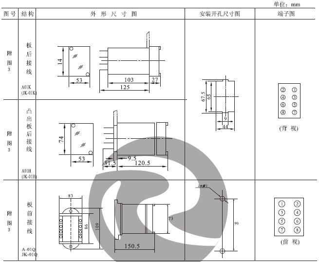 JX-11外形及开孔尺寸3