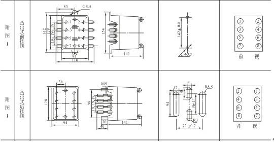 JZB-115Q,JZB-115内部端子图