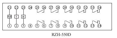 RZH-D产品内部接线图