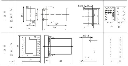 DS-25外形壳体及安装尺寸图