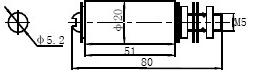 DS-33C电阻外形安装尺寸