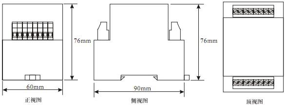 RZE-D产品外形尺寸图