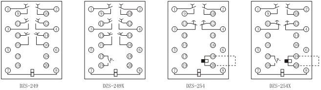 DZS-235必赢appbwin的内部接线图二