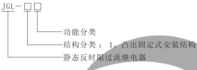 JGL-15型号分类及含义