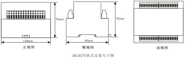 RZS-7D外形及开孔尺寸