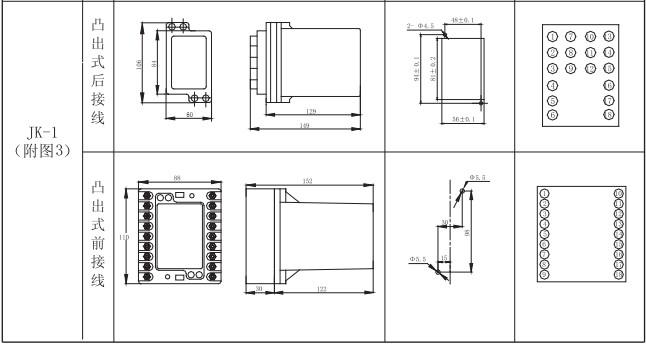 ZZS-7/1外形及开孔尺寸2