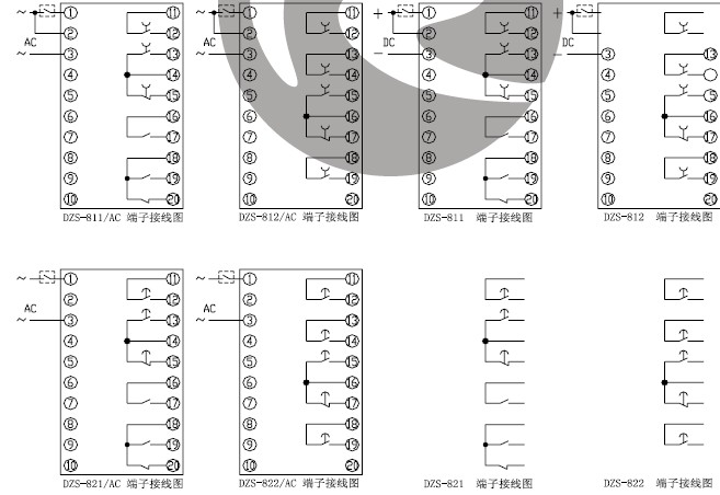 DZS-812内部接线图