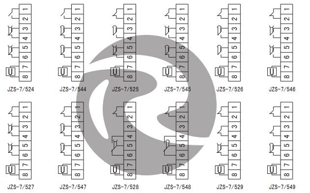 JZS-7/5421内部接线图