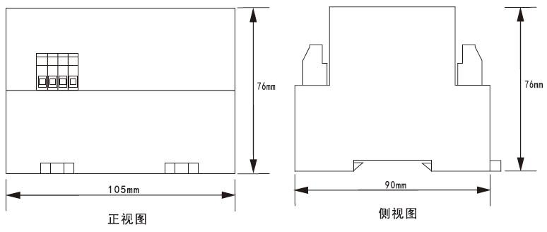 LB-7外形安装尺寸图